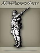 JEStockArt - Modern - Weapons Specialist With Unstrapped Helmet - INB