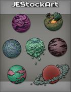JEStockArt - SciFi - Various Planets 003 - Bundle