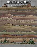 JEStockArt - SciFi - Various Landscapes 001 - Desert - Bundle