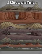 JEStockArt - SciFi - Various Landscapes 002 - Rocky - Bundle