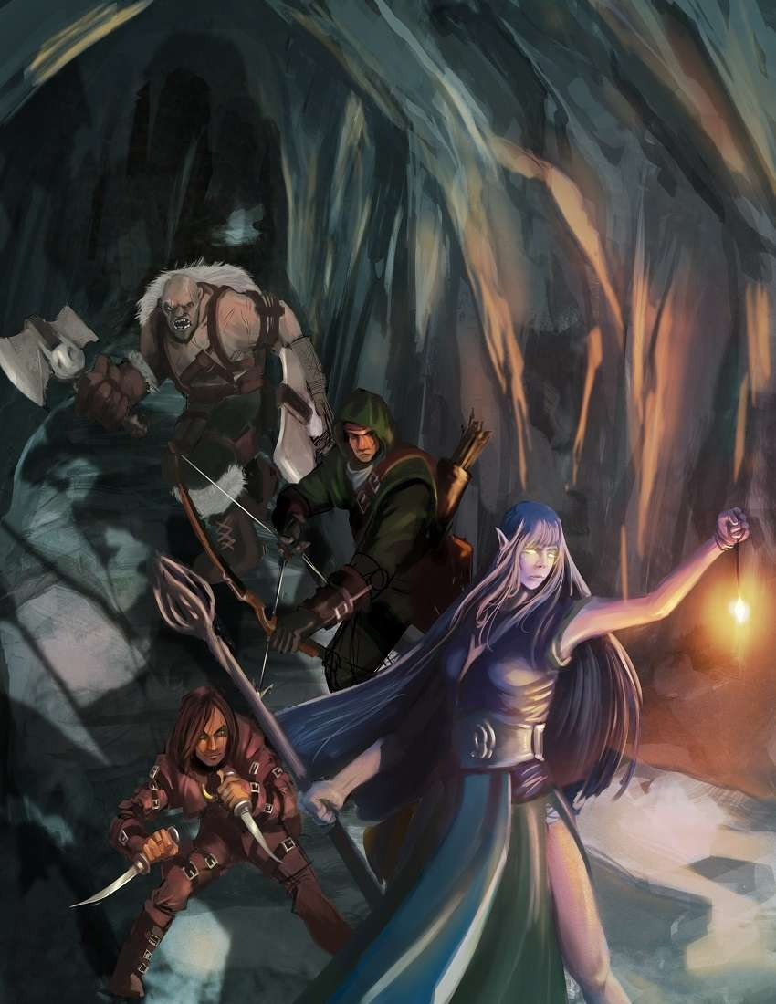 DnD 5th Ed Beginning Adventure Pack for 1st - 2nd Level PCs