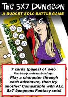 5x7 Dungeon Fantasy set 6