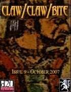 Claw / Claw / Bite ! Issue 9