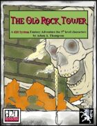 The Old Rock Tower - d20 Edition