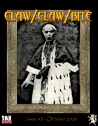 Claw / Claw / Bite Issue 3 - 2nd Printing
