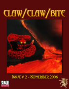 Claw / Claw / Bite Issue 2 - 2nd Printing