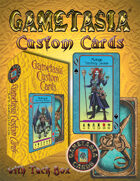 Gametasia Custom Cards with Tuck Box