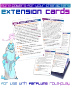 FARFLUNG Extension Cards