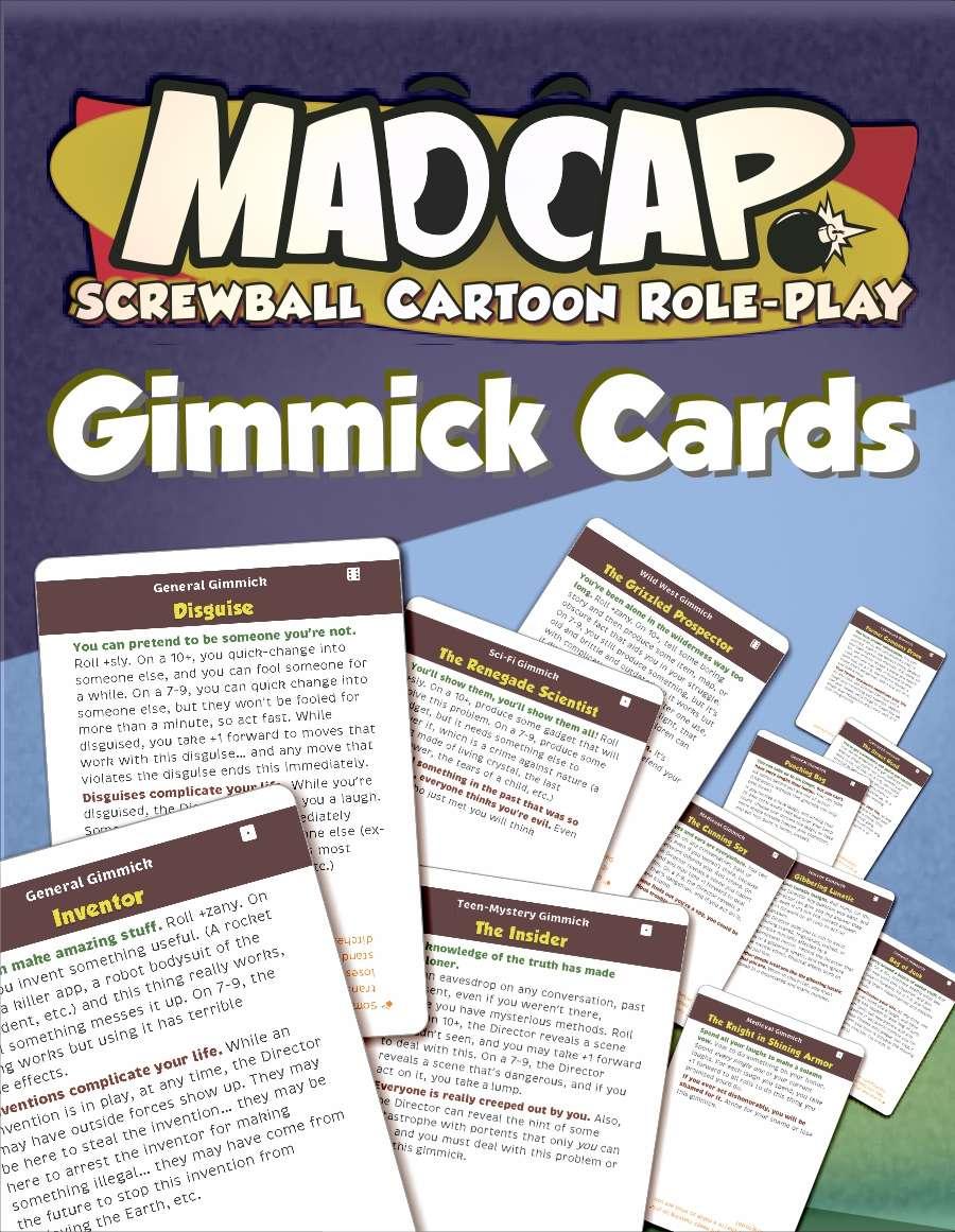 MADCAP Gimmick Cards