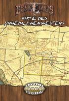 Deadlands: Karte des Unheimlichen Westens