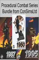 Procedural Combat Series 3 Pack (1950, 1987, 1995)