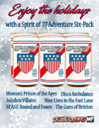 Spirit of 77 Adventure Six Pack [BUNDLE]