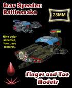 Grav Speeder: Rattlesnake