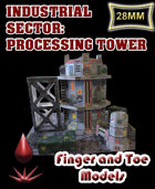 Industrial Sector: Processing Tower
