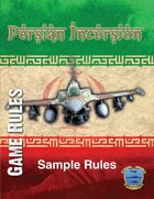 Persian Incursion Rules