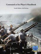 Command at Sea, 4th ed, 2nd printing Player's Handbook