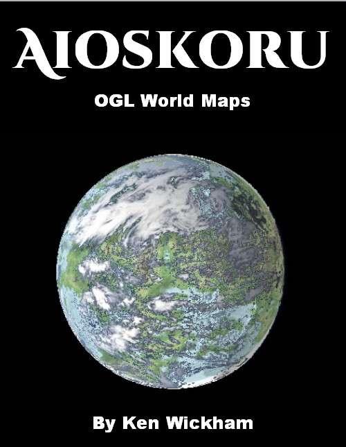 Aioskoru OGL World Maps - Ken Wickham | Aioskoru | DriveThruRPG com