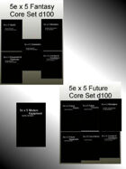 5e x 5 Fantasy & Future Core [BUNDLE]