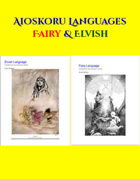 Aioskoru Elvish & Fairy Languages [BUNDLE]