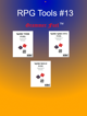 RPG Tools 13 (More verbs, adjectives, and nouns) [BUNDLE]