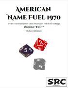 American Name Fuel 1970