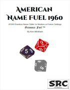 American Name Fuel 1960