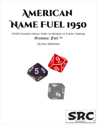 American Name Fuel 1950