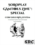 SoRoPlay GamTools Zine: Coin Solo RPG System