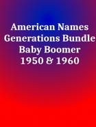 American Names Boomers [BUNDLE]