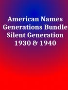 American Names Silent [BUNDLE]
