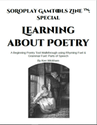 SoRoPlay GamTools Zine: Learning about Poetry