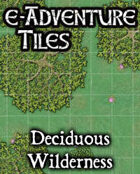 e-Adventure Tiles: Deciduous Wilderness