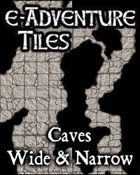 e-Adventure Tiles: Caves - Wide & Narrow