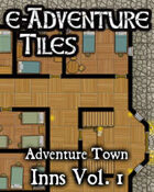 e-Adventure Tiles: Adventure Town Inns Vol. 1