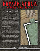 Rappan Athuk Adventure Maps: Ground Level