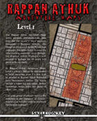 Rappan Athuk Adventure Maps: Level 1
