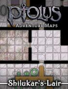 Ptolus Adventure Maps: Shilukar's Lair