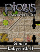 Ptolus e-Adventure Tiles: Ghul's labyrinth II