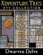 Adventure Tiles VTT Collection: Dwarven Delve