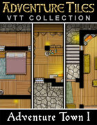 Adventure Tiles VTT Collection: Adventure Town I