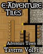 e-Adventure Tiles: Adventure Town Taverns Vol. 1