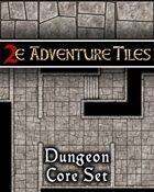 2e Adventure Tiles: Dungeon Core Set