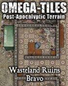 OMEGA-TILES 02: Wasteland Ruins Bravo