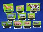Farm Animals 3D paper minis