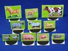 Farm Animals 3D paper minis