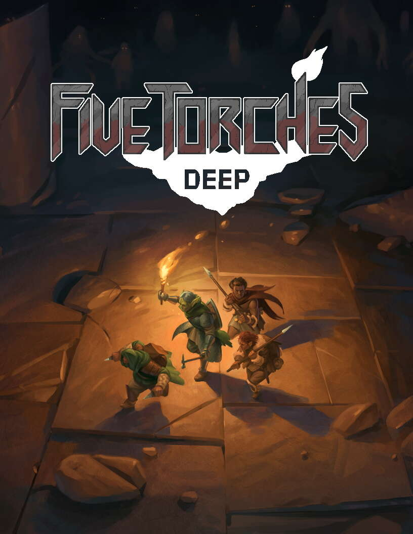 Five Torches Deep - Sigil Stone Publishing | Five Torches