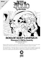 The Folio #4.5 Hammers Fall in Anarchy! [Mini-Adventure]