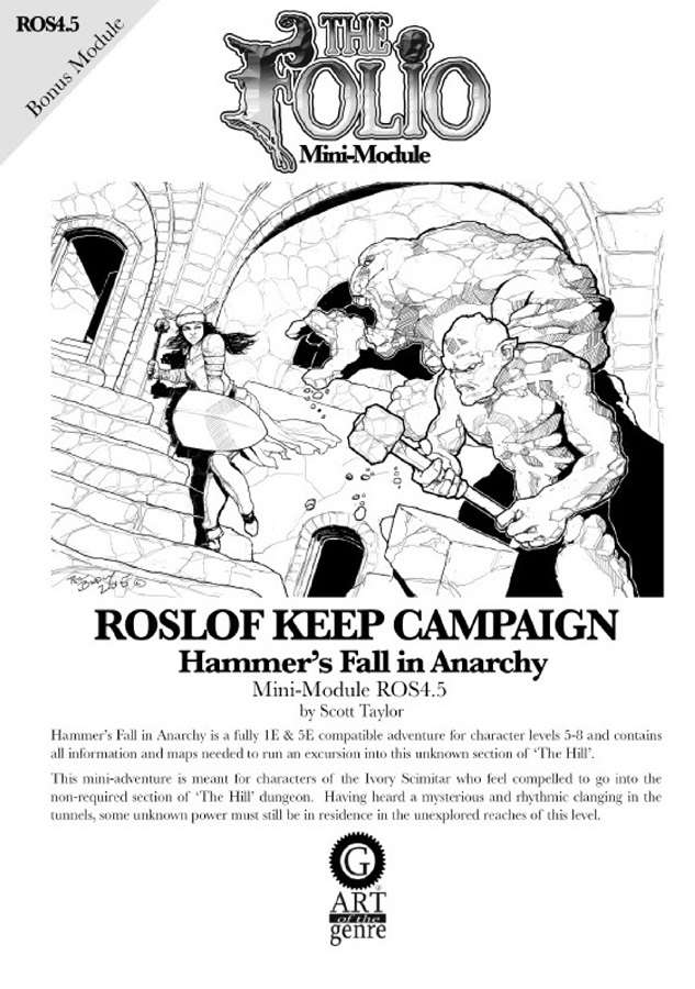 Cover of ROS4.5 Hammer's Fall in Anarchy