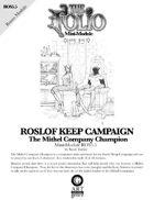 The Folio #5.5 The Mithel Company Champion [Mini-Adventure]