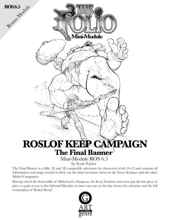 Cover of ROS6.5 The Final Banner